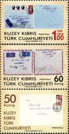 CHYPRE TURC 50ans De La Poste 3v 2014 Neuf ** MNH - Chypre (Turquie)