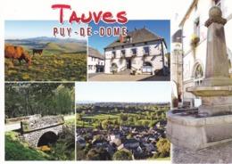 63 PUY DE DÔME - TAUVES - MULTIVUES - - Frankreich