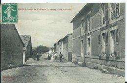 FLEURY Devant DOUAUMONT - Rue Saint Nicolas - France