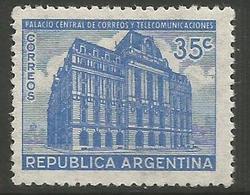 Argentina - 1945 Post Office 35c MNH **     Sc 542 - Argentina