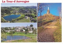 63 PUY DE DÔME - LA TOUR D'AUVERGNE - MULTIVUES - - France