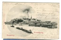 POZSONY PRESSBURG Gruss Aus-type Sent 1901 - Hungary