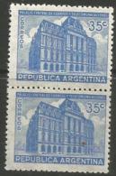 Argentina - 1945 Post Office 35c Pair MNH **     Sc 542 - Argentina