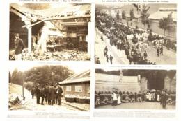 """LA CATASTROPHE """"D'ISSY-LES-MOULINEAUX """" EXPLOSION DE LA CARTOUCHERIE """" GEVELOT """"  1901 - Ile-de-France"""