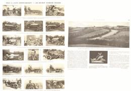 """POUR LA COUPE   """" GORDON-BENNETT """"  Les 18 COUREURS ENGAGES    1905 - Other"""