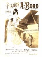 "PUB PIANO  "" A.BORD "" 1899 ( 1 ) - Music & Instruments"