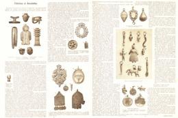 FETICHES Et AMULETTES     1899 - Jewels & Clocks