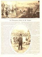 """LE PANORAMA D'IENA De """" M. POILPOT """"  1899 - Otros"""