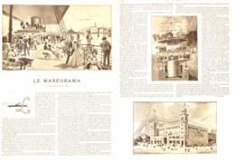 LE MAREORAMA  à  L'EXPOSITION De 1900    1899 - Technical