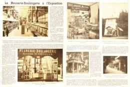 LA MEUNERIE-BOULANGERIE  à  L'EXPOSITION De 1900 - Ciencia & Tecnología