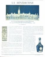 """PUB-reportage  """" LA BENEDICTINE """"    1900 ( 7 ) - Alcolici"""