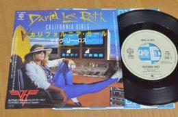 David Lee Roth 45t Vinyle California Girls Japon - Hard Rock & Metal