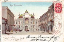 Ukraine - ODESSA - Richelieu Street - Publ. Vl. Kaganov. - Ucraina