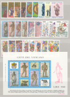 Vaticano 1987 Annata Completa/Complete Year MNH/** - Vatican