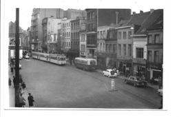 Borgerhout - Turnhoutsesteenweg Tram En Bus. - Antwerpen