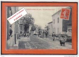 Carte Postale 54. Blénod-les-Toul  Grand'Rue  Partie Basse Trés Beau Plan - France