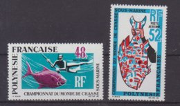 POLYNESIE : PA . N° 29/30 **. TB . 1969 . - Polinesia Francese