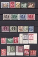 Deutsches Reich - 1943  - Sammlung - Postfrisch/Ungebr. -  34 Euro - Alemania