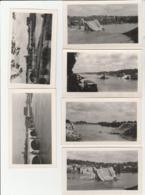6 PHOTO (11x7 Cm) PONT DE SAINT CYR DÉTRUIT PAR ALLEMAND 1944 TOURS (37) - Photographs