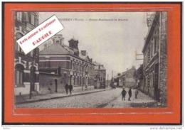 Carte Postale 59. Fournes  Route Nationale  Et Mairie Trés Beau Plan - France