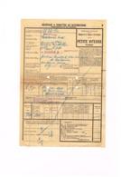 Transport Chemin De Fer D'Alsace Et De Loraine - Mertzwiller De Diétrich & Cie - 1936 - Pour Valence D'Agen - Billetes De Transporte