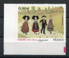 RC 13731 FRANCE N° 370 HANSI ALSACE AUTOADHÉSIF COTE 11€ TB NEUF ** - France