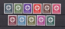 Deutsches Reich - Dienstmarken - 1942/44  - Michel Nr.167/177 - Postfrisch - 44 Euro - Deutschland