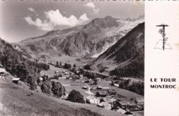 74 - Le Tour - Glacier U Tour Et Col De Balme Vue Du Montroc - Autres Communes