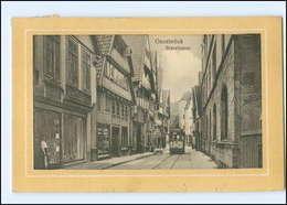 XX006023/ Osnabrück Bierstraße Straßenbahn 1912 AK - Germany