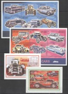 R911 GRENADA GRENADINES TRANSPORT CLASSIC CARS AUTOMOBILES !!! 2BL+2KB MNH - Cars