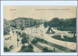XX005879/ Berlin Landsberger Platz  Straßenbahn AK Ca.1912 - Germany