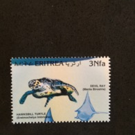 ERITREA. FISH. TURTLE. MNH 5R063D - Turtles