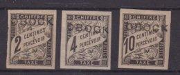 OBOCK : T N° 6 , N° 8 , N° 10 * . TB . 1892 . - Obock (1892-1899)