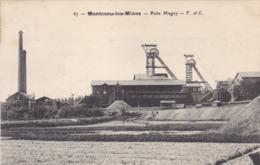 Saône-et-Loire - Montceau-les-Mines - Puits Magny - Montceau Les Mines