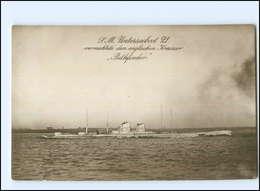 U6990/ S.M. Unterseeboot 21 U-Boot Foto Ak 1914  Marine - Onderzeeboten