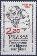 2143  RENAUDOT Et DE GIRARDIN Oblitéré ANNEE 1981 - Frankreich