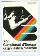 Y11798/ Rom  Campionati D`Europa Di Ginnastica Maschile 1981 Turnen Ringturnen - Italien