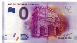 Billet Touristique Orange (84) : Arc De Triomphe (2016) - EURO