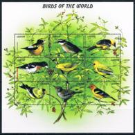 Bloc Sheet Oiseaux  Birds  Neuf  MNH **  Lesotho 1999 - Autres