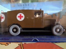 Les Autos De TINTIN - L' Ambulance - De Tintin En Amérique . - Tintin
