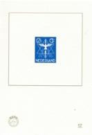Nederland - 2019 - 12,5 Cent Vredeszegel, Blauwdruk 17 Uit De NVPH Speciale 2020 Catalogus - Non Classés