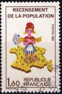 2202 RECENSEMENT De La POPULATION Oblitéré ANNEE 1982 - Frankreich