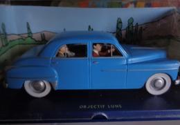Les Autos De TINTIN - L' Automobile - De Objectif Lune . - Tintin
