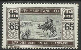 MAURITANIE 1922 YT 37** - Mauritanie (1906-1944)