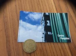 """Ticket D'entrée """"Centre Pompidou Musée Expo"""" (Paris 75) - Tickets D'entrée"""