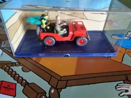 Les Autos De TINTIN - La JEEP - Dans Tintin Au Pays De L'or Noir . - Tintin