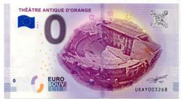Billet Touristique Orange (84) : Théatre Antique (2018) - Essais Privés / Non-officiels