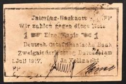 German East Africa 1 Rupie Rupia 1917 Pick#22d Lotto 2822 - Altri – Africa
