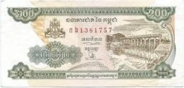 Camboya - Cambodia 200 Riels 1998 Pk 42 B.1 Ref 297-2 - Cambodia