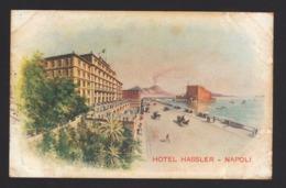 15211 Napoli - Hotel Hassler F - Napoli